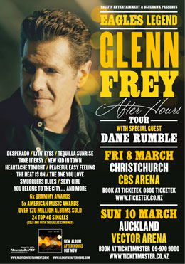 Glenn Fry - NZ After Hours Tour