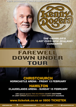 Kenny Rogers - Live in New Zealand February 2015