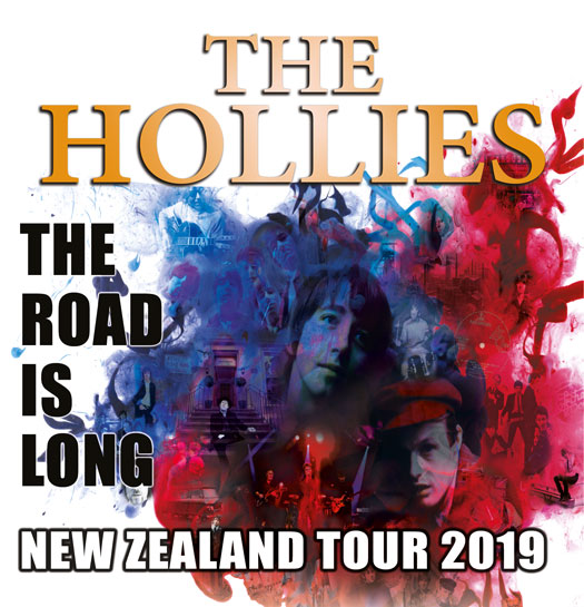 The Hollies touring New Zealand March 2019